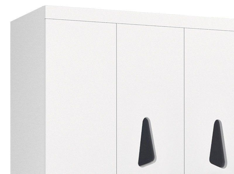 Guarda-Roupa 3 Portas Iris Branco - JeA Móveis