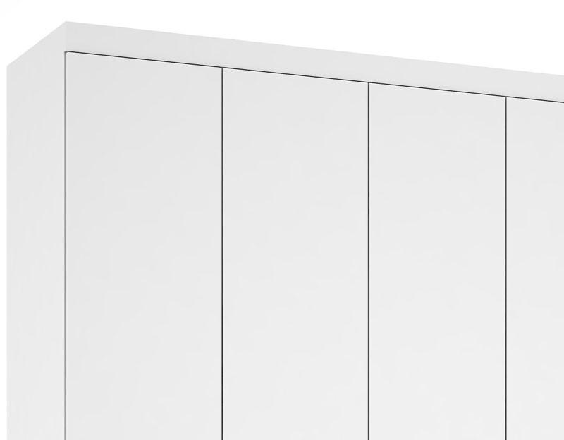Guarda Roupa Lisboa Plus III Branco - Mirarack