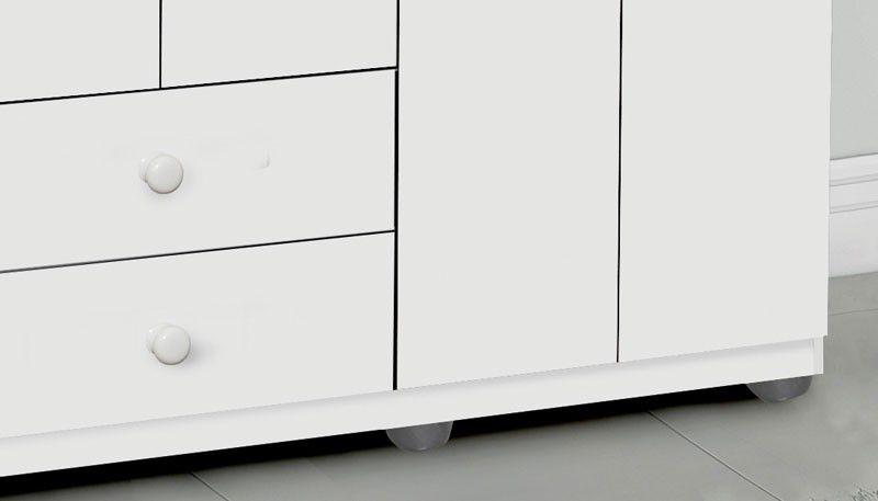 Guarda-Roupa Luna 4 Portas Branco - Móveis Primus