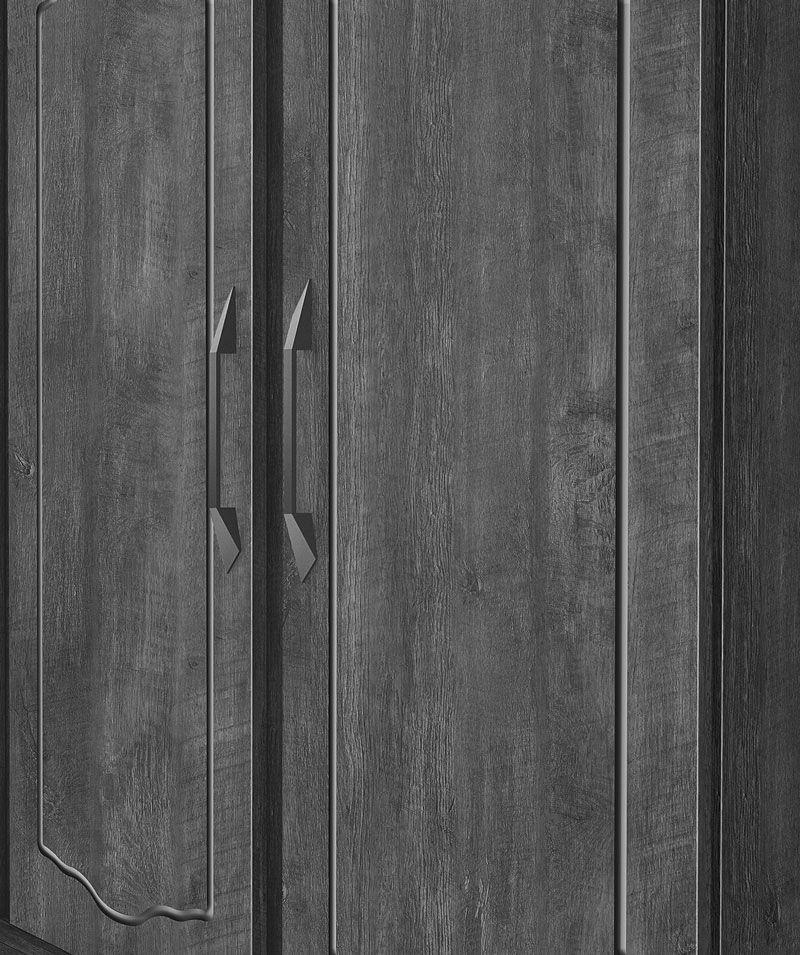 Guarda-Roupa Triplex 4 Portas Topázio Imbuia - FabriMóveis