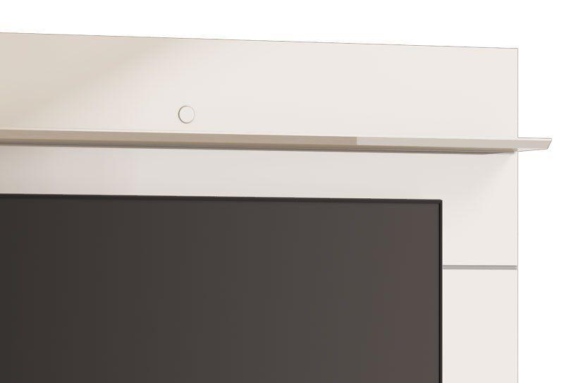 Home Suspenso Ópera 1.8 Off White com Freijó e Espelho - Imcal Móveis