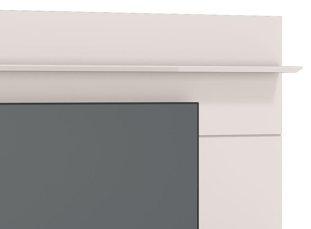 Home Suspenso Ópera 1.8 Off White com Nature e Espelho - Imcal Móveis