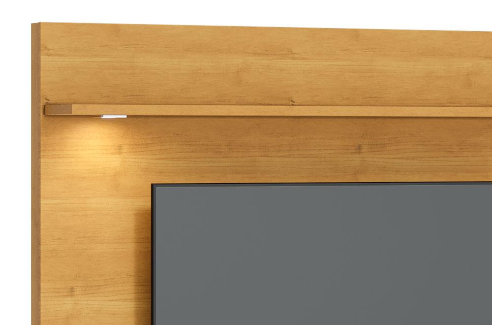 Home Suspenso Vidratto 1.8 Nature com Off White - Imcal Móveis