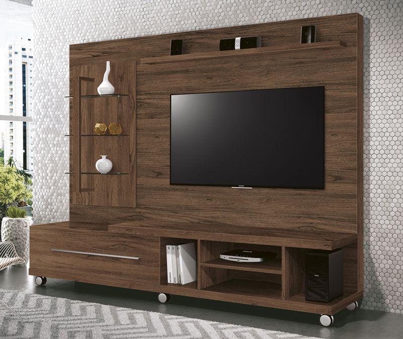 Home Theater Armany Rovere Italiano - Edn Moveis