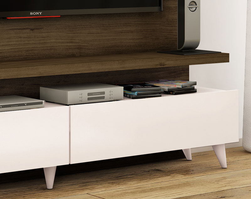 Home Theater Boss Imbuia com Off White 1.8 - Imcal