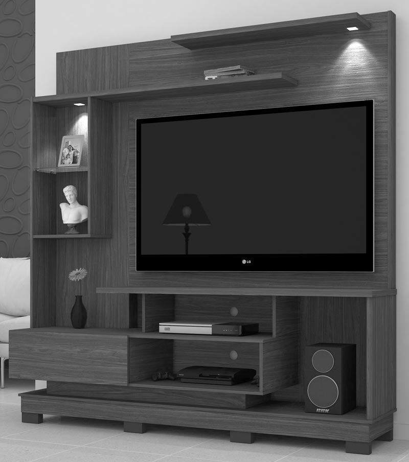 Home Theater Oregon Plus Rústico - Mirarack