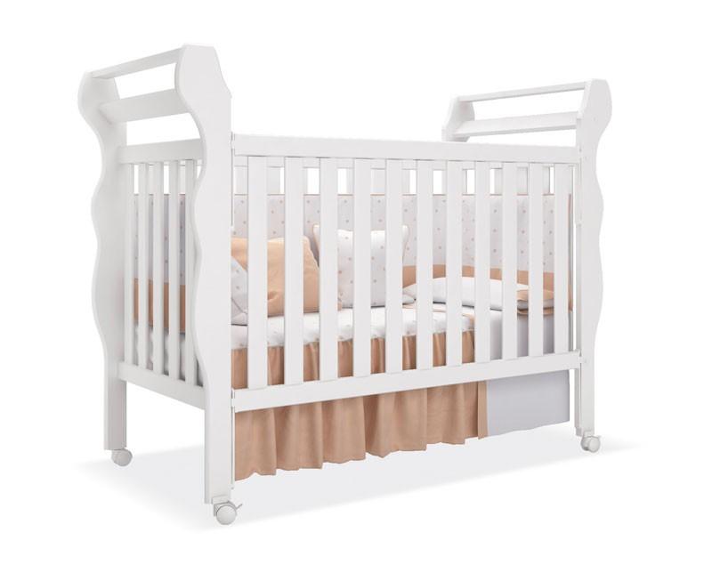 Jogo de Quarto para Bebê Completo Laura Branco - Imaza Móveis