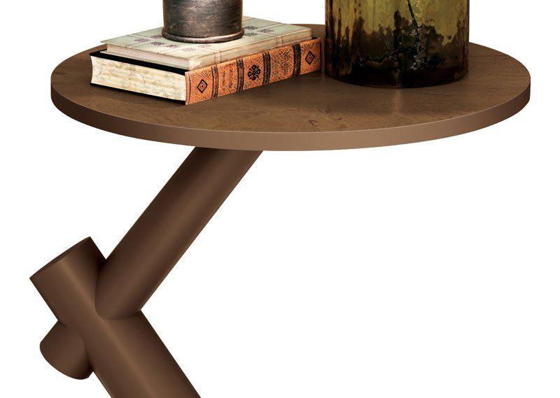 Mesa de Apoio Wood Naturale - EDN Móveis