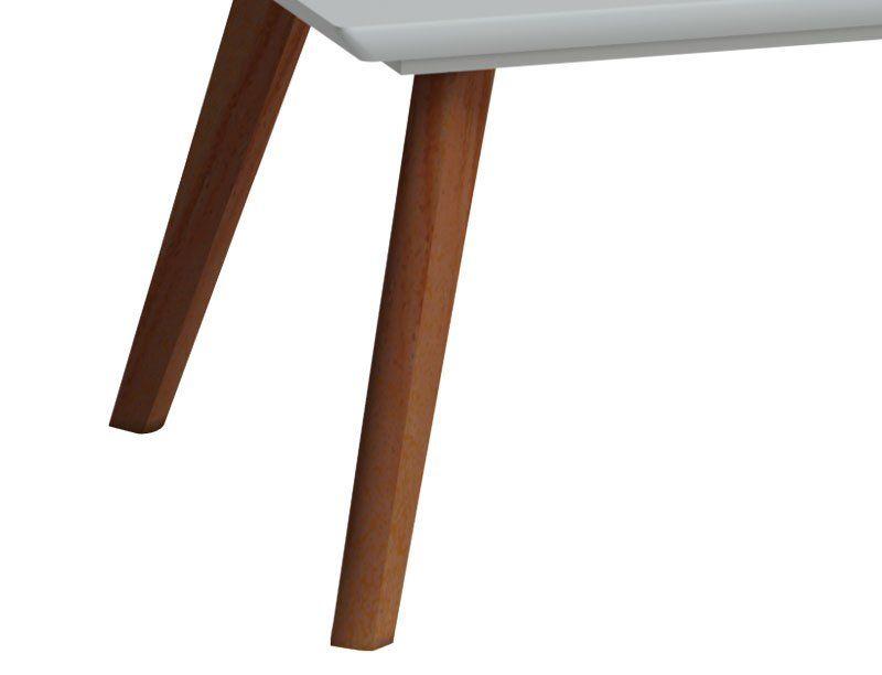 Mesa de Centro Classic Branco Acetinado - Imcal Móveis
