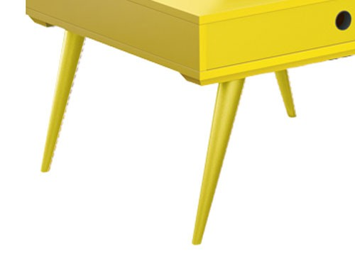 Mesa de Centro Dakota Amarelo - Edn Móveis