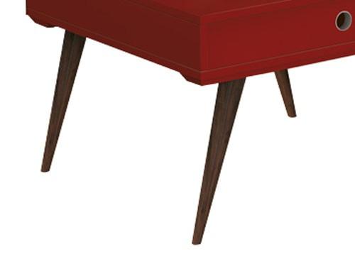 Mesa de Centro Dakota Vermelho - Edn Móveis  - MoveisAqui - Loja de móveis online!