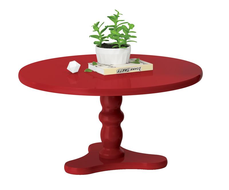 Mesa de Centro Intense Vermelho - Patrimar Móveis  - MoveisAqui - Loja de móveis online!