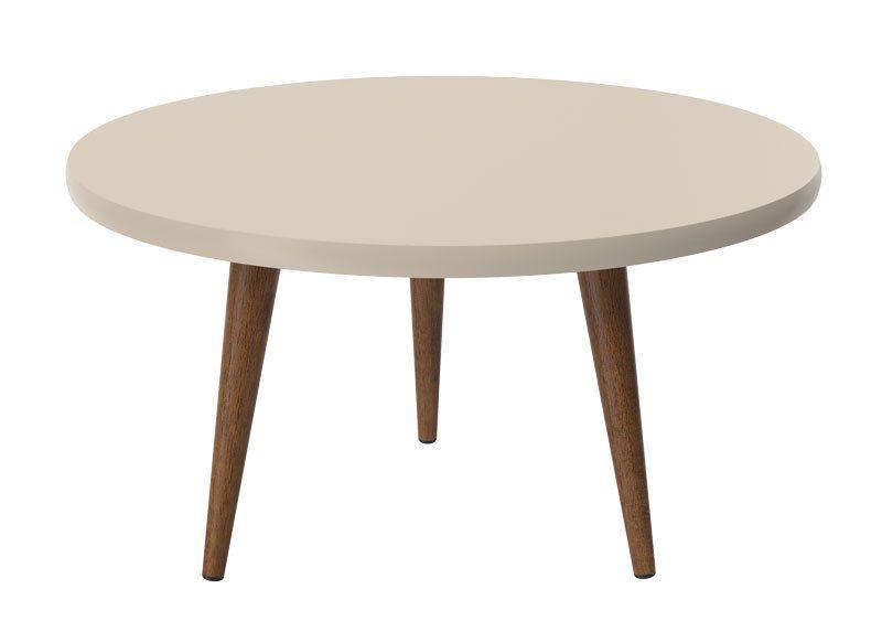 Mesa de Centro Legs Off White - Patrimar Móveis
