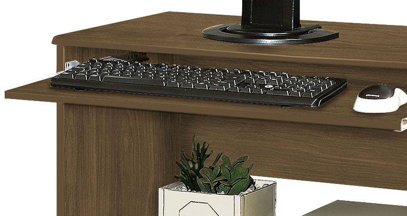 Mesa para Computador Austrália Amêndoa - Móveis Primus