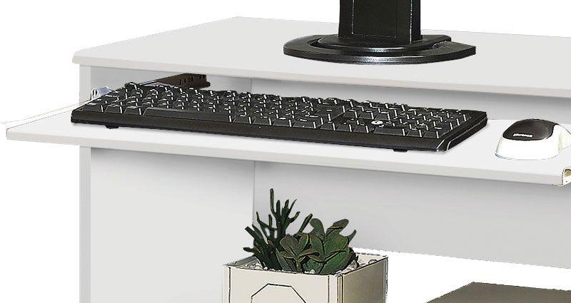 Mesa para Computador Austrália Branco - Móveis Primus