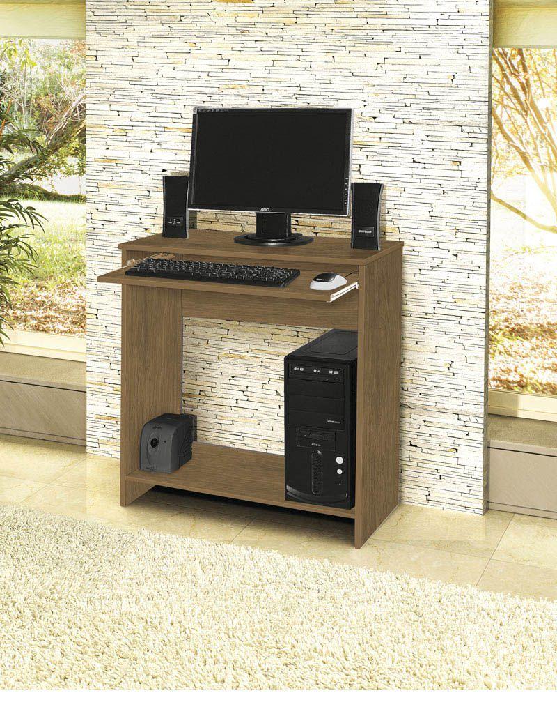 Mesa para Computador China Amêndoa - Móveis Primus