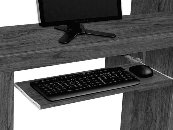 Mesa para Computador Everest Rovere Itáliano - Edn Móveis