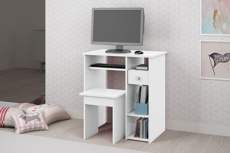 Mesa para Computador JB 6010 Branco - JB Bechara