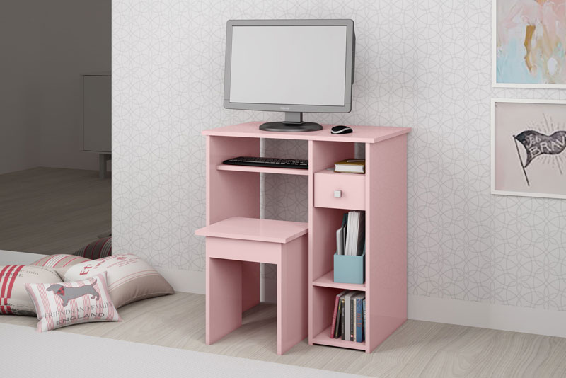 Mesa para Computador JB 6010 Rose - JB Bechara