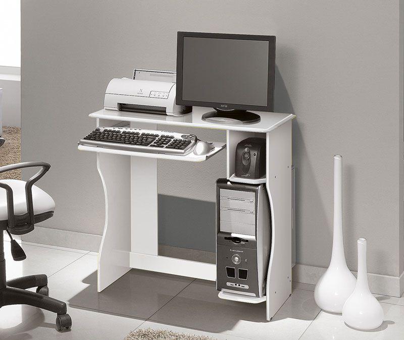 Mesa para Computador Lívia Branco - Edn Móveis