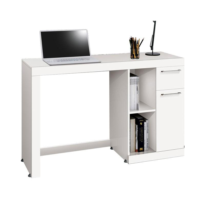 Mesa para Computador Office Doris Branco - Edn Moveis