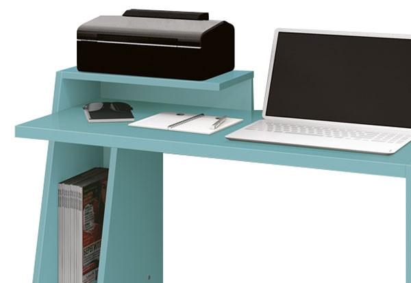Mesa para Computador Office Zoom Acqua - Edn Móveis