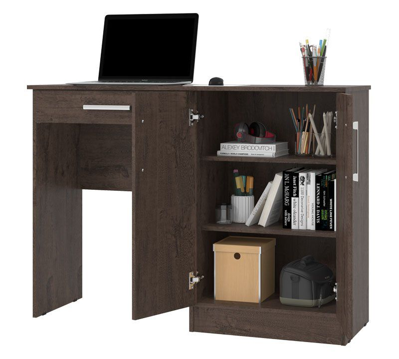 Mesa para Computador Space Imbuia - Patrimar Móveis