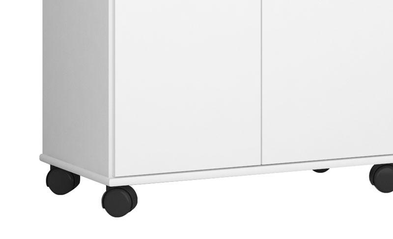 Multiuso Nápoles Branco - CSA Móveis  - MoveisAqui - Loja de móveis online!
