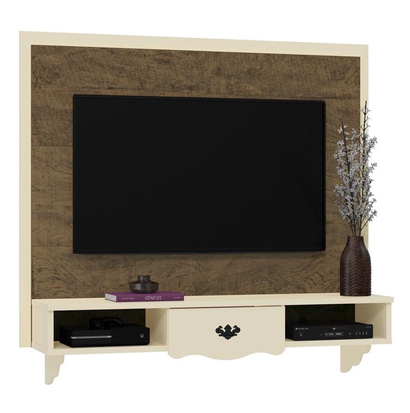 Painel para TV Athenas Demolição com Off White - Patrimar Móveis  - MoveisAqui - Loja de móveis online!