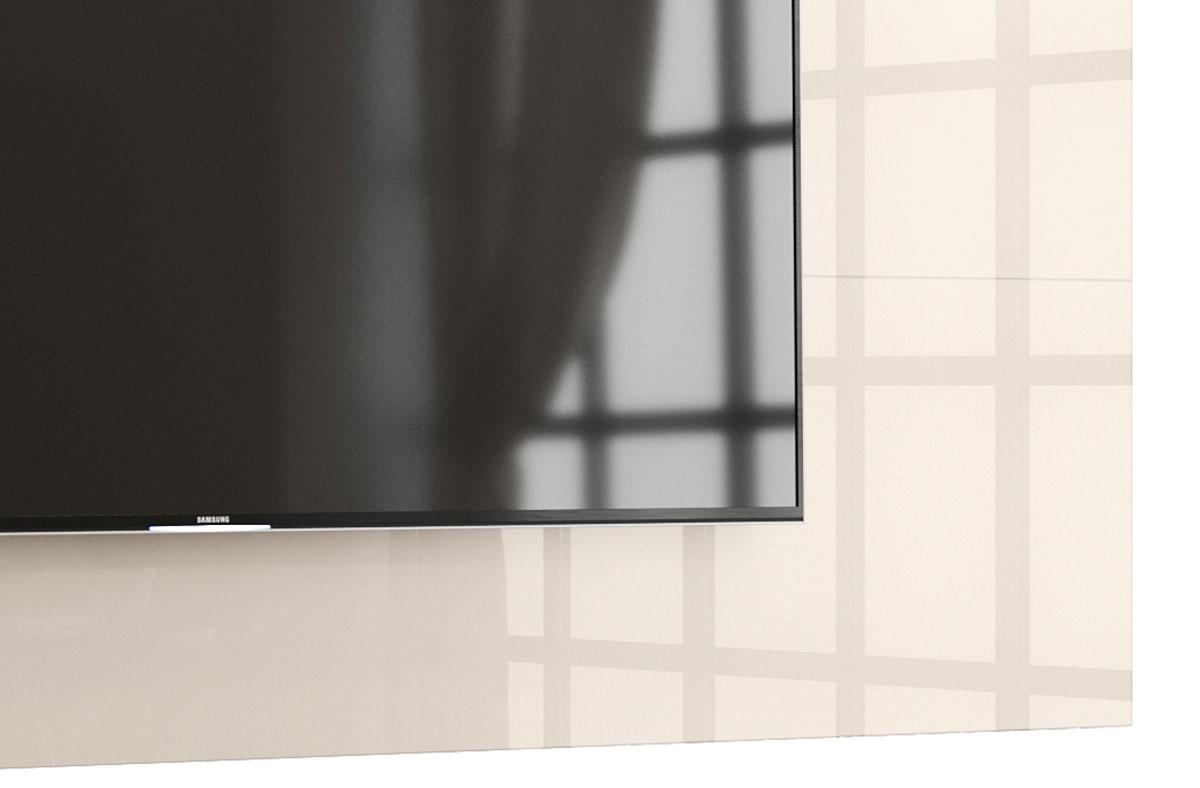 Painel para TV Aspen 1.8 Off White - MoveisAqui