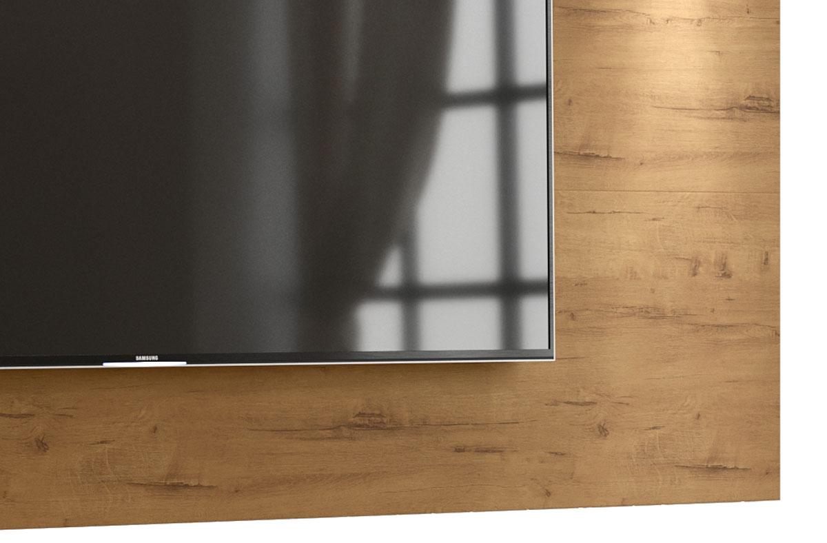 Painel para TV Aspen 2.2 Madeiro Canela - MoveisAqui