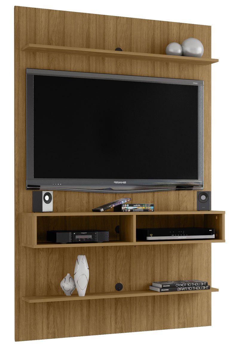 Painel para TV 47 polegadas Vega Cinamomo - Móveis Bechara