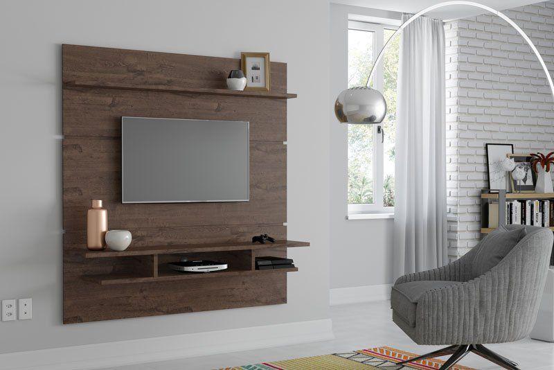 Painel para TV Adryan Imbuia - Patrimar Móveis