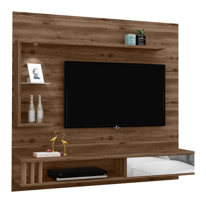 Painel para TV Allune Canela - Germai Móveis