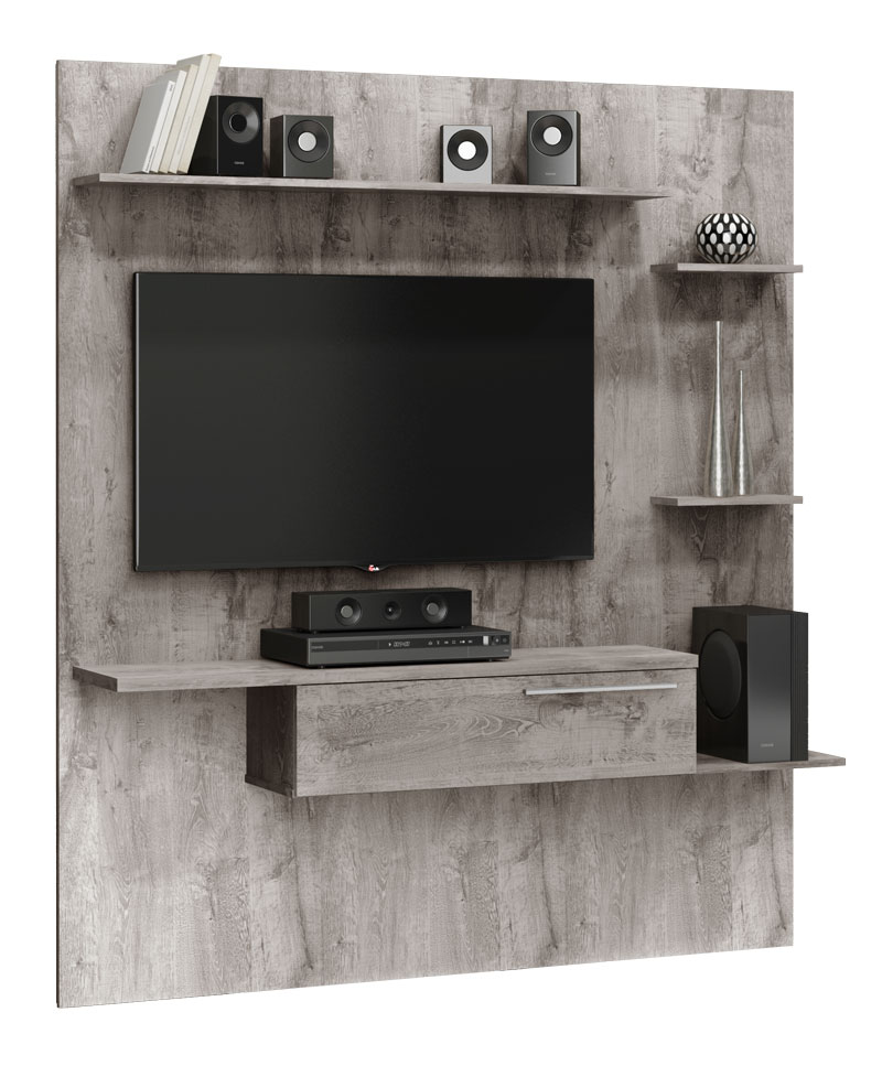 Painel para TV Antares Vanilla Rústico - Móveis Bechara  - MoveisAqui - Loja de móveis online!