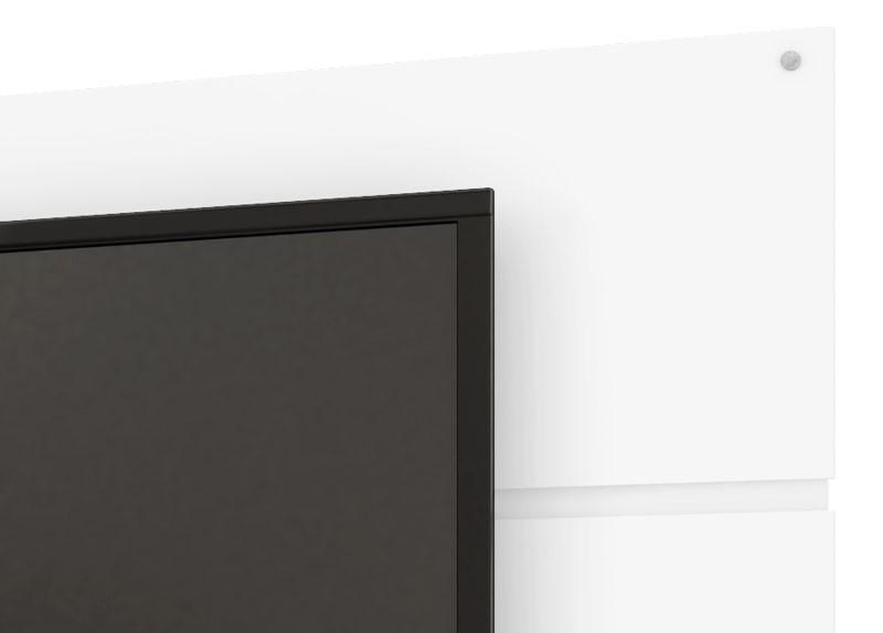 Painel para TV Caiman Branco - Móveis Bechara