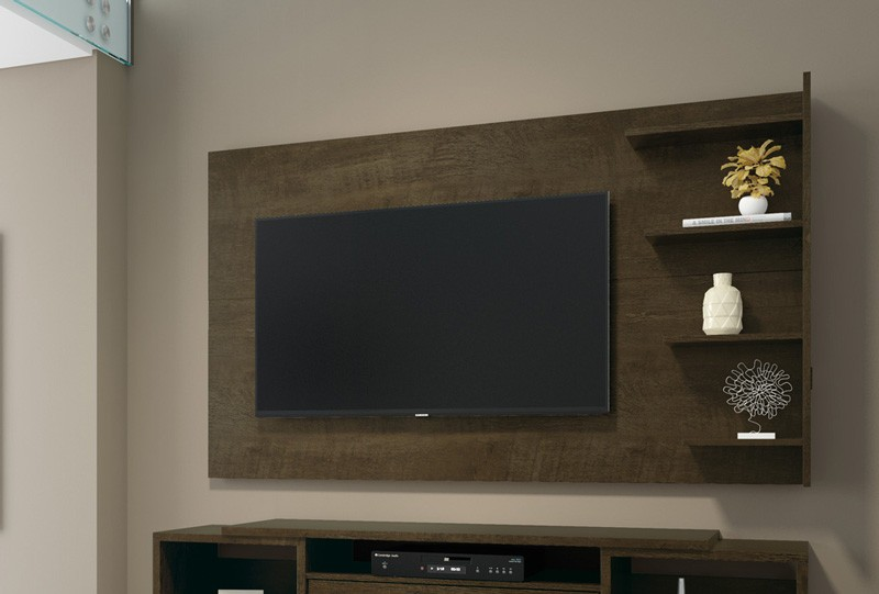 Painel para Tv Chicago Imbuia - RV Moveis