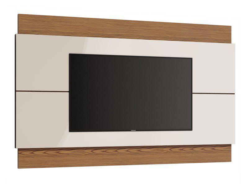 Painel para TV Classic 1.4 Off White com Freijó - Imcal Móveis