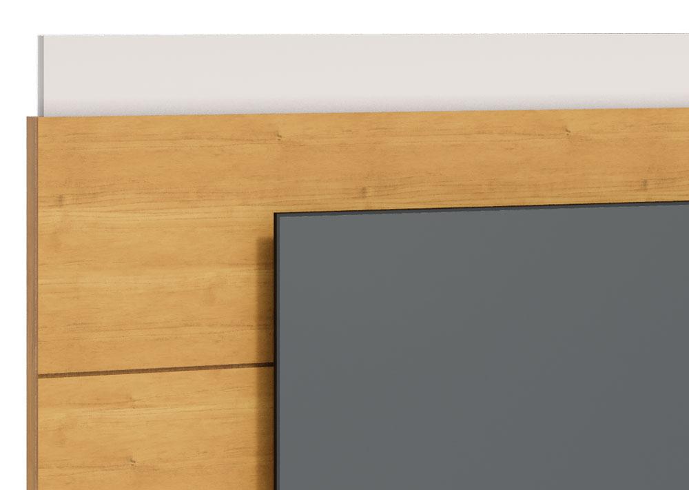 Painel para TV Classic 2.2 Nature com Off White - Imcal Móveis