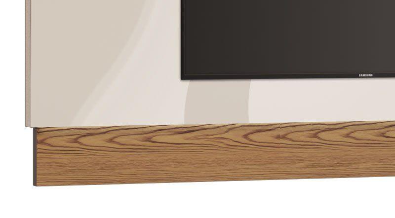 Painel para TV Classic 2.2 Off White com Freijó - Imcal Móveis