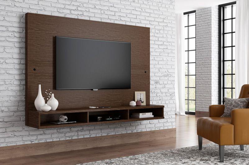 Painel para TV Coral Castanho - RV Móveis