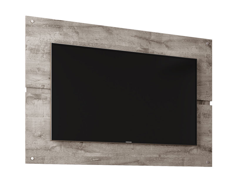 Painel para TV Creta Vanilla Rústico - Móveis Bechara