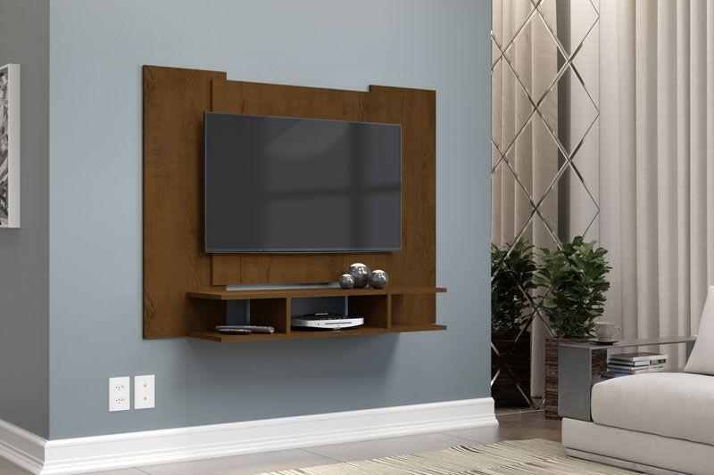 Painel para TV Quarto até 48 polegadas EJ Malbec - EJ Móveis