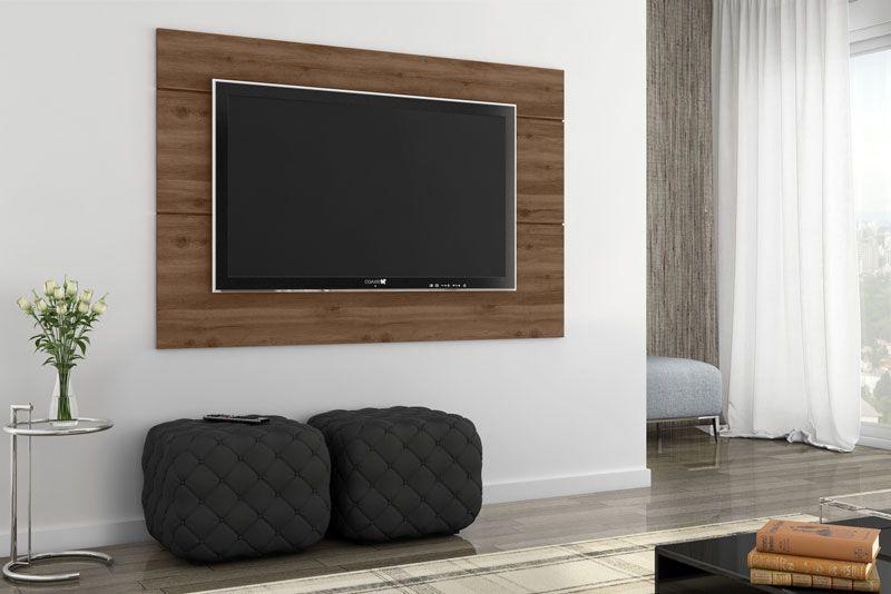 Painel para TV Grafite Plus Canela - Germai Móveis