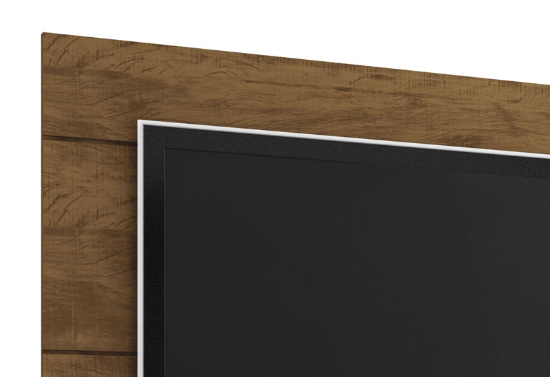 Painel para TV Grafite Plus Gold Wood - Germai Móveis
