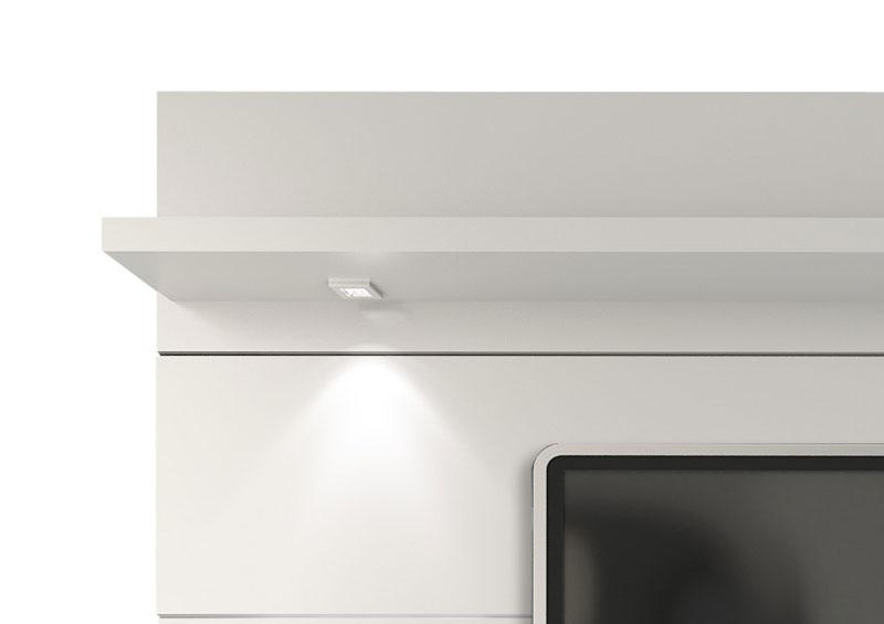 Painel para TV Horizon 2.2 Branco Gloss - Móveis Provincia