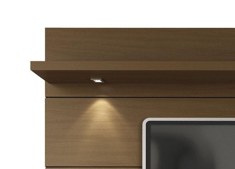 Painel para TV Horizon 2.2 Castanho - Móveis Provincia