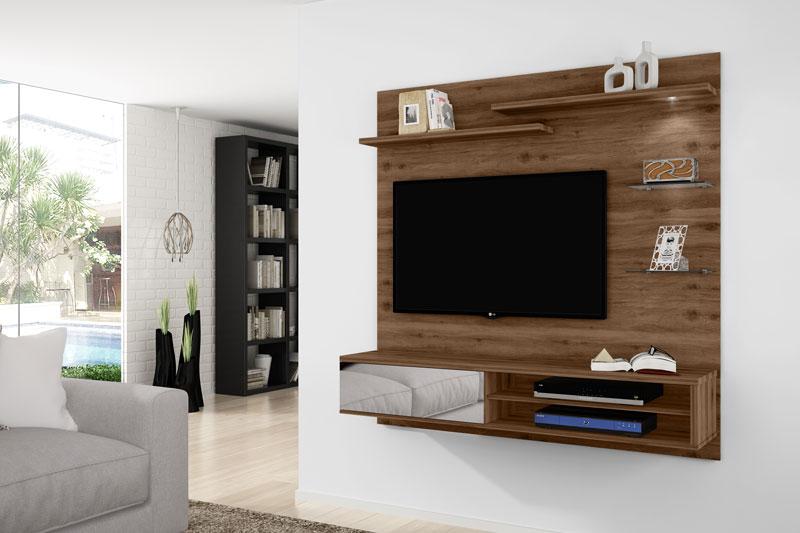 Painel para TV Icaro Canela - Germai Móveis