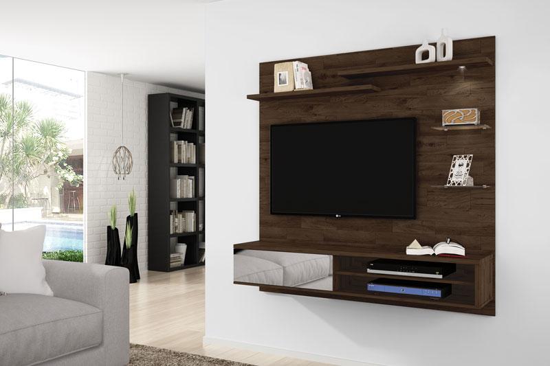 Painel para TV Icaro Rústic - Germai Móveis
