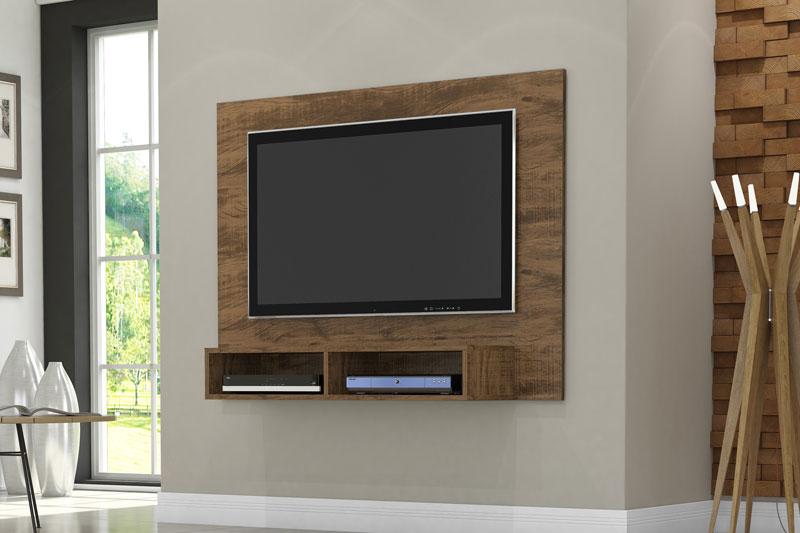 Painel para TV Ipanema Gold Wood - Germai Móveis